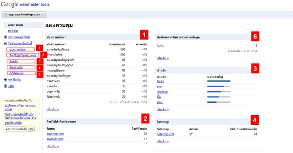 2011 05 09 153216 600x314 Google Webmaster Tools ลงลึกสถิติเว็บไซต์ ตอนจบ