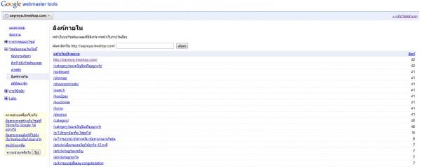 2011 05 09 162201 600x239 Google Webmaster Tools ลงลึกสถิติเว็บไซต์ ตอนจบ