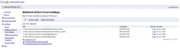 2011 05 09 165353 600x164 Google Webmaster Tools ลงลึกสถิติเว็บไซต์ ตอนจบ
