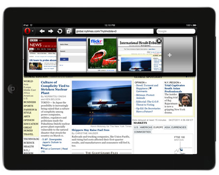opera Opera Mini version 6.0   iPad 