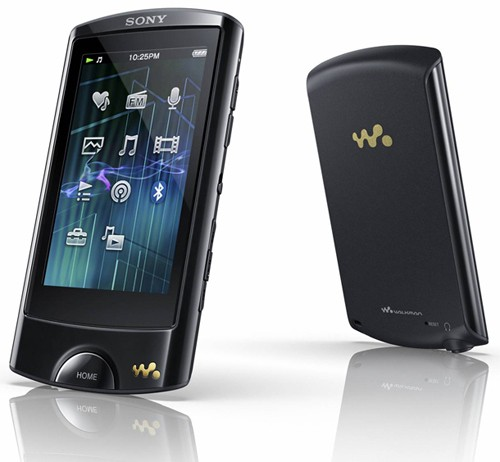 sony walkman nwza865b front and back1 Sony Video Walkman  NWZA865B  Buy.com