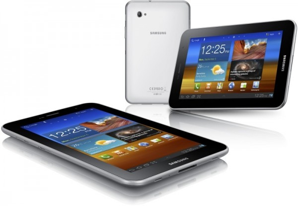 samsunggalaxytabplus7008 600x414 Samsung Galaxy Tab 7.0 Plus    1.2 GHz, Android Honeycomb