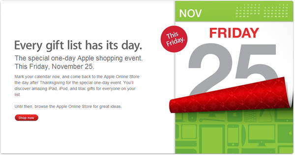 apple black friday Apple  Black Friday  !!