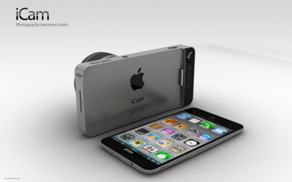 icam 2 600x374 [Concept] iCam   iPhone 5 