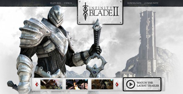 infinity blade2 600x310 [Game] Infinity Blade 2 !!  App  iPad 