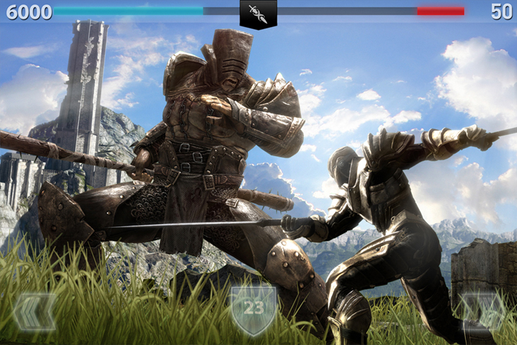 IB2 SirisVsNoc iPhone1 [Game] Infinity Blade 