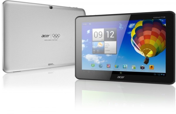 acericoniataba510silverboth front and back 600x389 Acer Iconia Tab A510  Tegra 3, ICS (Android 4.0)