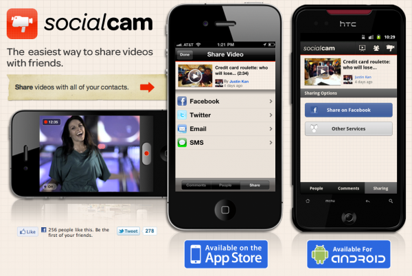Socialcam www 600x402 Socialcam  
