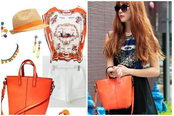 dfr กระเป๋าแฟชั่นฮ่องกง Axixi ดีไซน์เก๋ สีสุดจี๊ดจาก Tomuya Shop