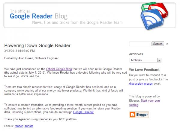 powerDownGoogleReader