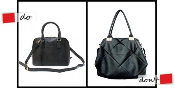 เลือกกระเป๋าอย่างไร ให้เข้ากับรูปร่าง