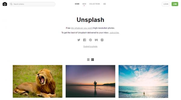 เว็บที่สองสำหรับดาวน์โหลดรูปภาพสวย ไม่มีลิขสิทธิ์ ขอแนะนำ Unsplash.com