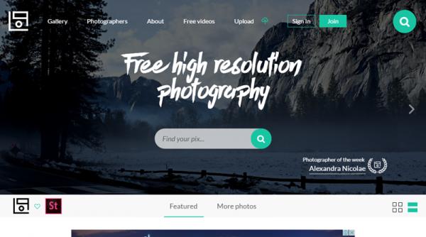 เว็บภาพสวย ที่ให้ดาวน์โหลดฟรีเว็บสุดท้ายที่อยากแนะนำก็คือ Lifeofpix.com