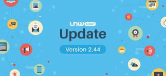 LnwShop update 2.44 : ค่าส่งราคาพิเศษสำหรับเจ้าของร้านค้าเทพ และเตือนภัยมิจฉาชีพ หลอกโอนเงินผ่าน Mobile Banking