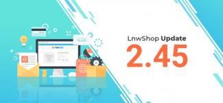 LnwShop Update 2.45  อัพเดทฟีเจอร์ใหม่ และเพิ่มช่องทางการขายไป Shopee
