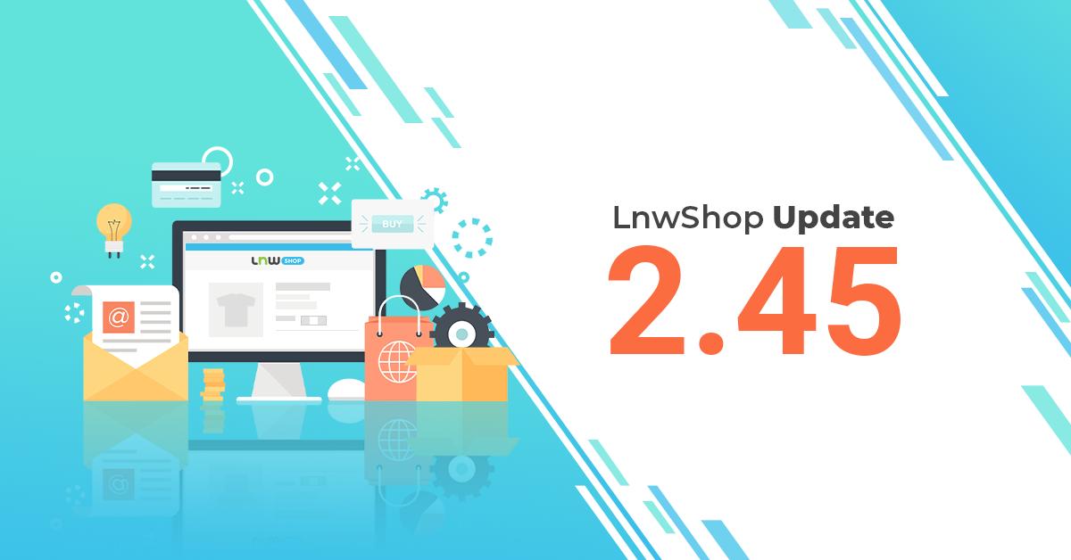 LnwShop Update version 2.45