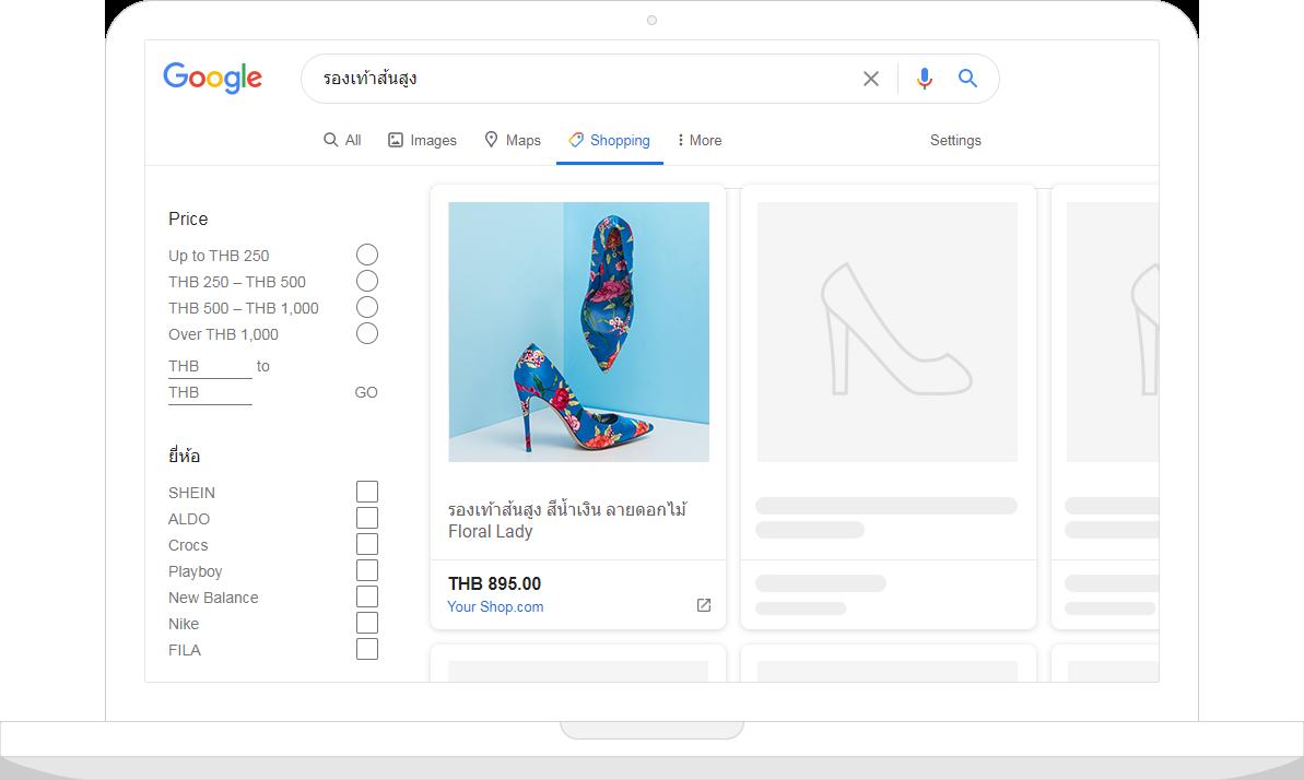 Google Shopping Tab - Shopping Tab